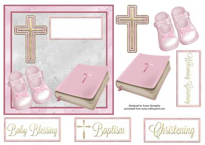 baby girl baptism christening cup470709 114 craftsuprint