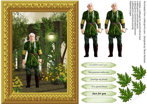 Legolas in Rivendell - CUP741540_42863 | Craftsuprint