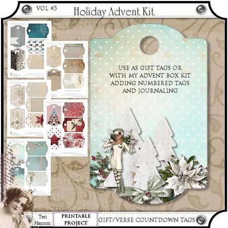 Christmas Advent Kit Vol 3 Cup567228 1966 Craftsuprint