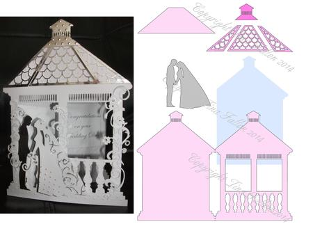 Wedding Gazebo Card Template No 2 Cup543545 1929