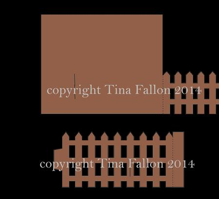 Bendy Card Template Picket Fence Cup707951 1929