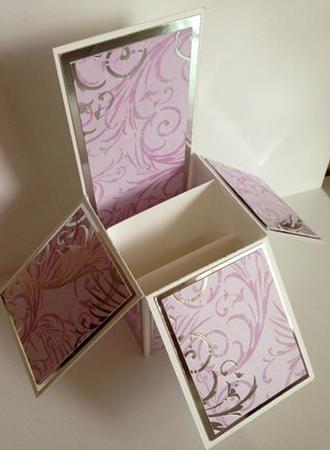 Pop Up Card Box Template - CUP708331_1929 | Craftsuprint