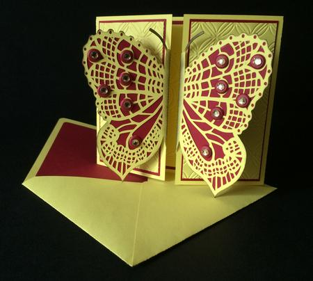 Download Butterfly Gatefold With Envelope - CUP710884_1929 ...