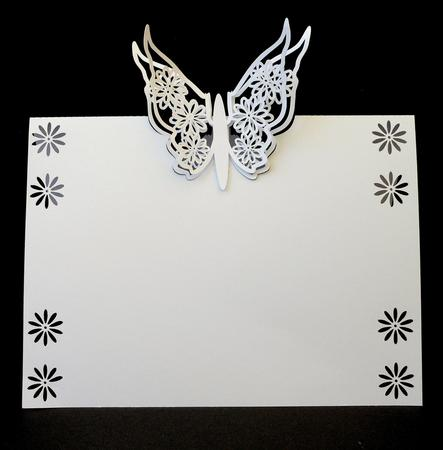 Butterfly Pop Card Placemat Cup Craftsuprint