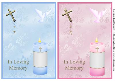 In Loving Memory Sympathy Toppers Male Amp Female