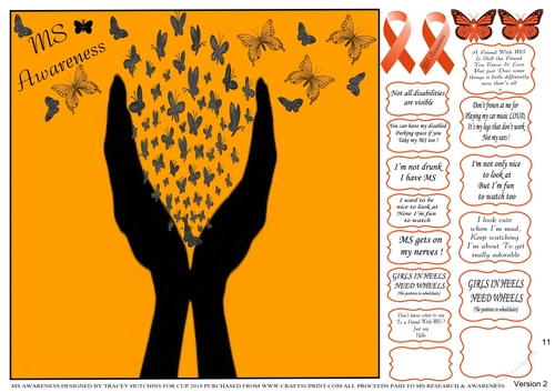 MULTIPLE SCLEROSIS AWARENESS & RESEARCH CHARITY, DIFFERENT MULTI SENTIMENTS  & QUOTES 11