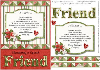 Remembering a special friend christmas card front with verse remembering a special friend christmas card front with verse cup267619880 craftsuprint m4hsunfo
