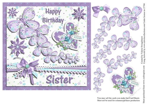 Happy Birthday Sister Butterfly Images