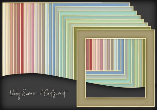 Shabby 2 Colour Match Frame