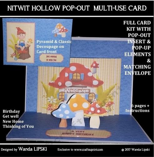 3d Scene It Card Kits Kits Card Making