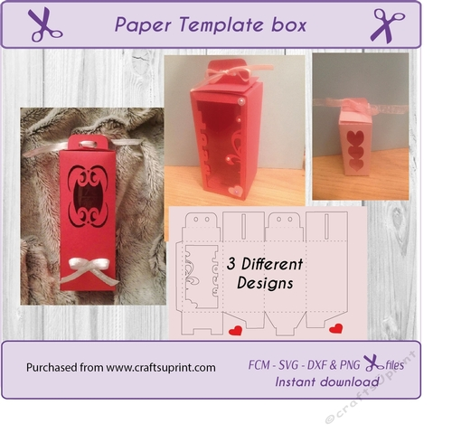 9a01b38f443 Template Gift box