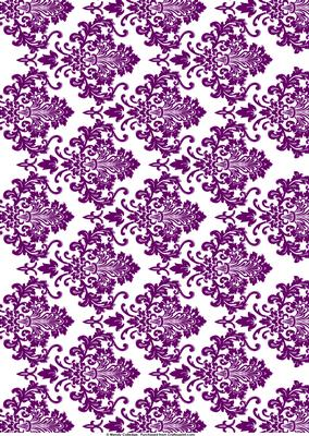 White Amp Purple Damask Background Cup66556 571 Craftsuprint