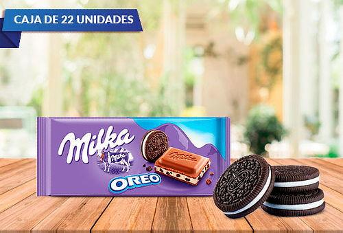 Endulzate Con Caja De 22 Chocolates Milka Oreo 100 Grs.