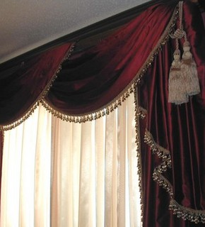San Franciscobest Stores For Custom Striped Silk Draperies