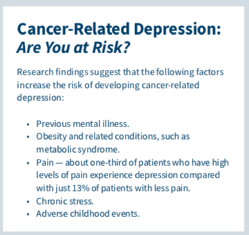 depression cancer diagnosis anxiety
