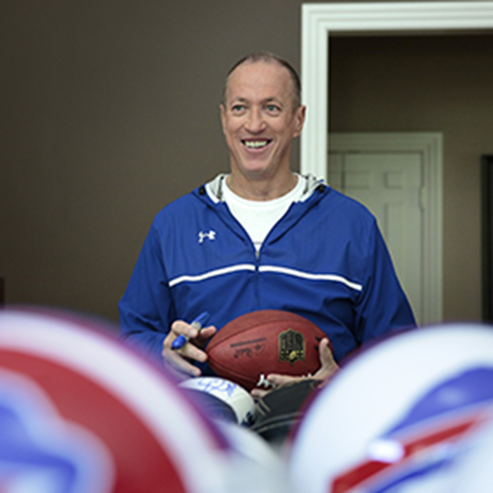 Jim Kelly's Cancer Journey: Trophies, Tragedies and Triumphs