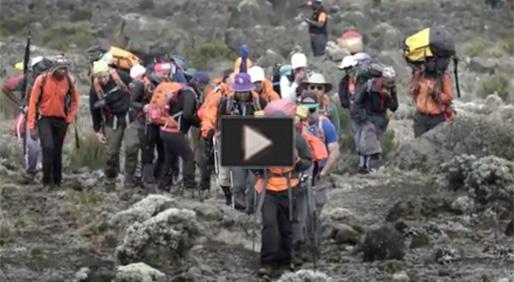 Moving Mountains for Multiple Myeloma Kilimanjaro 2017