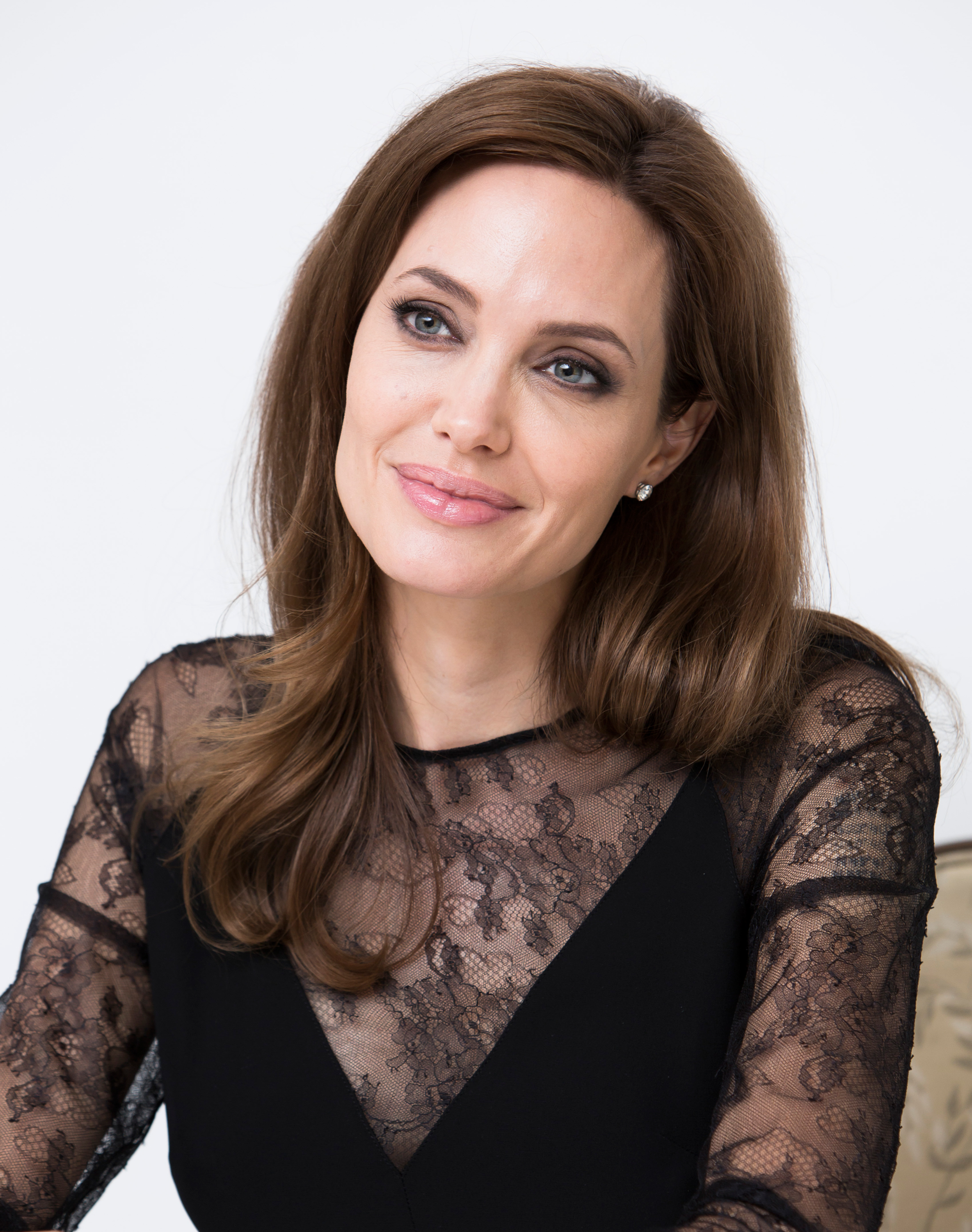 Angelina Jolie Tits angelina jolie sparks rise in genetic testing for treat