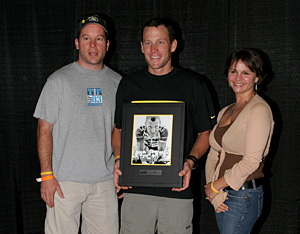 Bob Hammer, Lance Armstrong, Kim Hammer