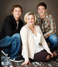 Emily and sons