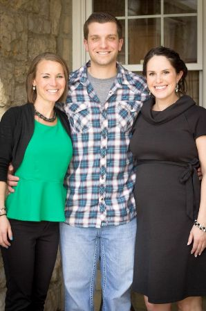 Lindsay and Tony Giannobile with their surrogate, Kristen Keighley