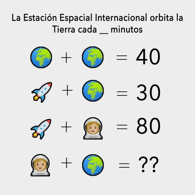 El sencillo acertijo matemático que publicó la NASA para conocer un dato curioso