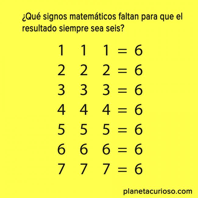 Sólo un genio puede resolver este sencillo acertijo matemático