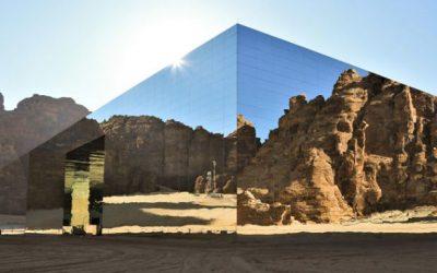 Construyen el edificio cubierto de espejos más grande del mundo