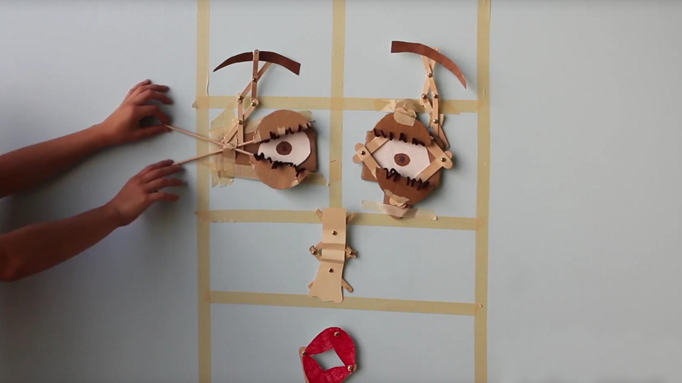 build a robotic face