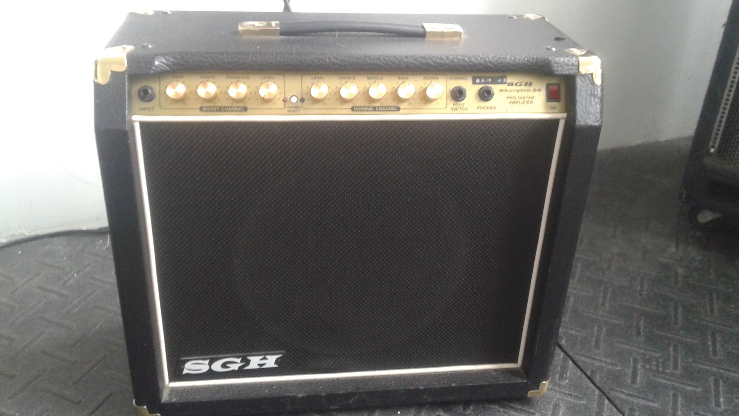 SGH Pro Guitar Amp - Skorpion 55