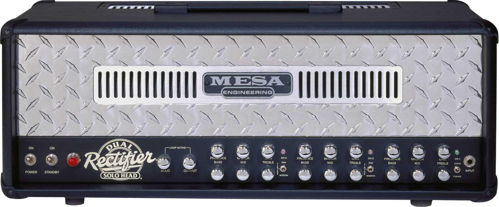 Mesa Boogie - Dual Rectifier - Solo Head