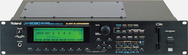 Roland - JV 2080 - 64 Voice Synthesizer Module