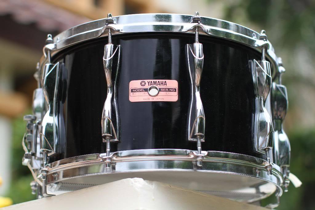 Snare 14'' x 6.5'' - Yamaha - Recording Custom - Jet Black