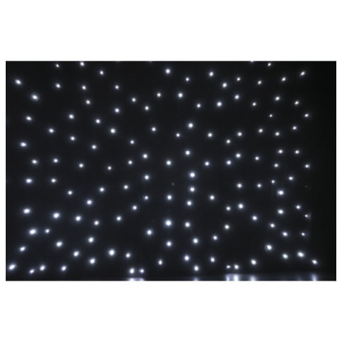 6m x 3m White LED Starcloth