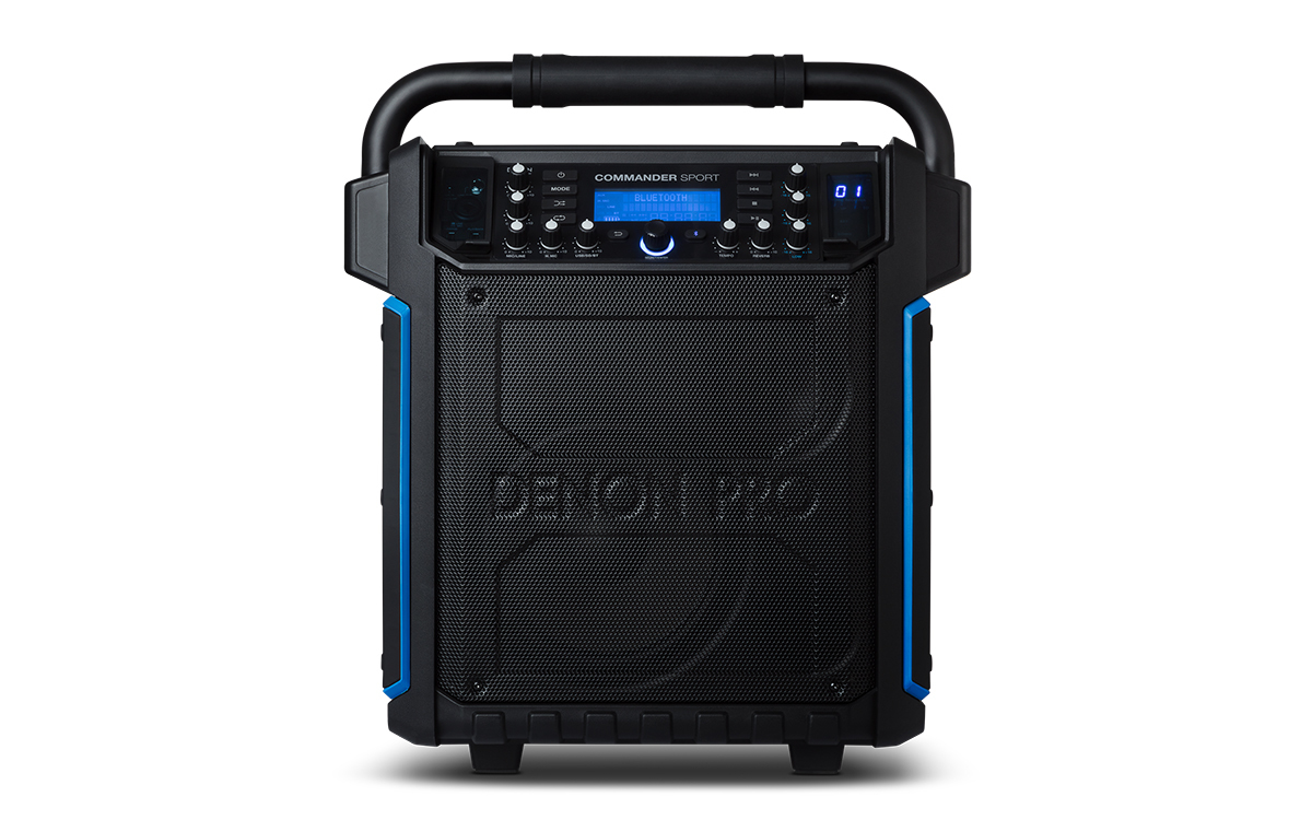 Denon Commander Sport PA - Battery Powered