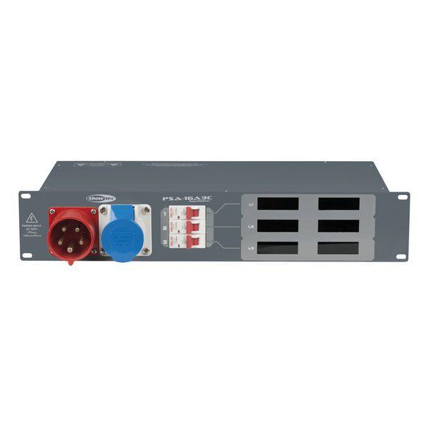 16A 3 Phase Rackmount Distro -> 7x 16A