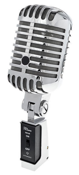Retro 1950's Silver Vocal Microphone