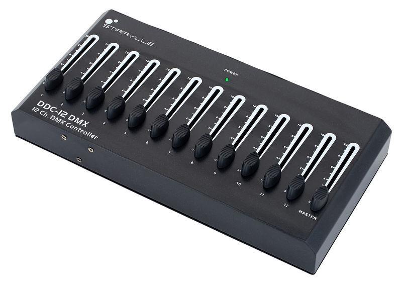 12 Ch DMX Controller