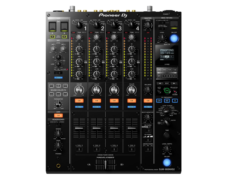 Pioneer DJM 900NXS2 4Ch Professional DJ/Club Mixer