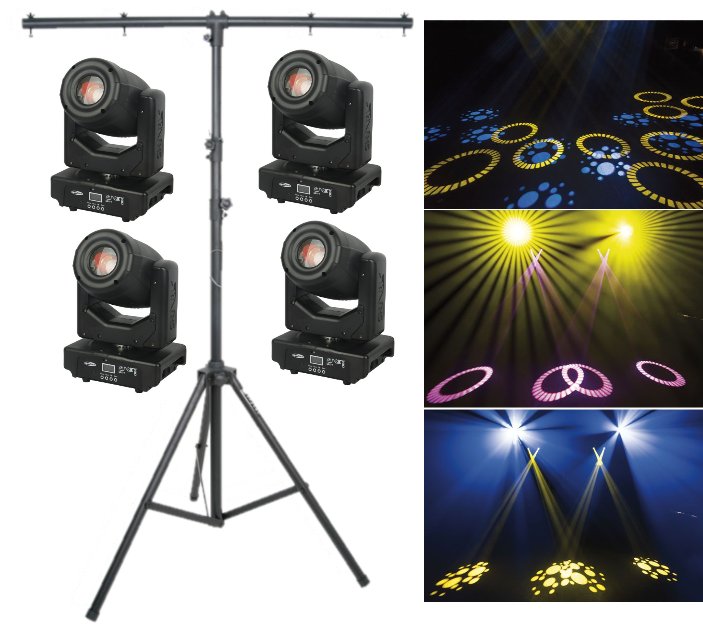 Lighting Package 4 - Moving Lights with Infrared Remote