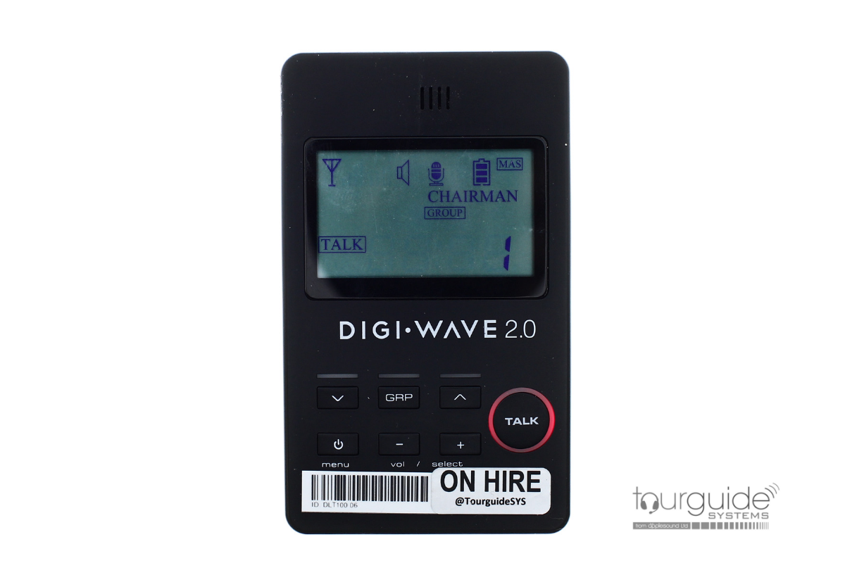 Digiwave DLT100 pocket transceiver, cover & lanyard (RENTAL)