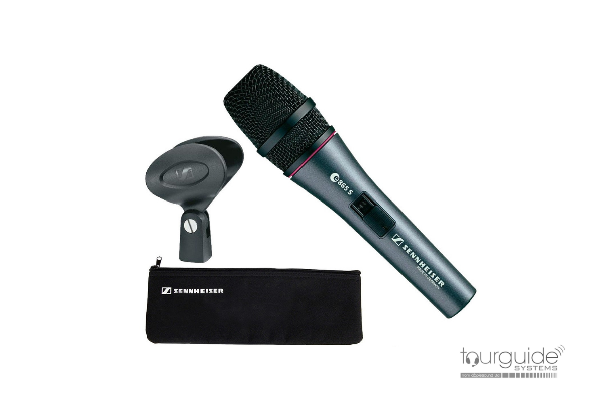 e 865-S Condenser Vocal Microphone with switch