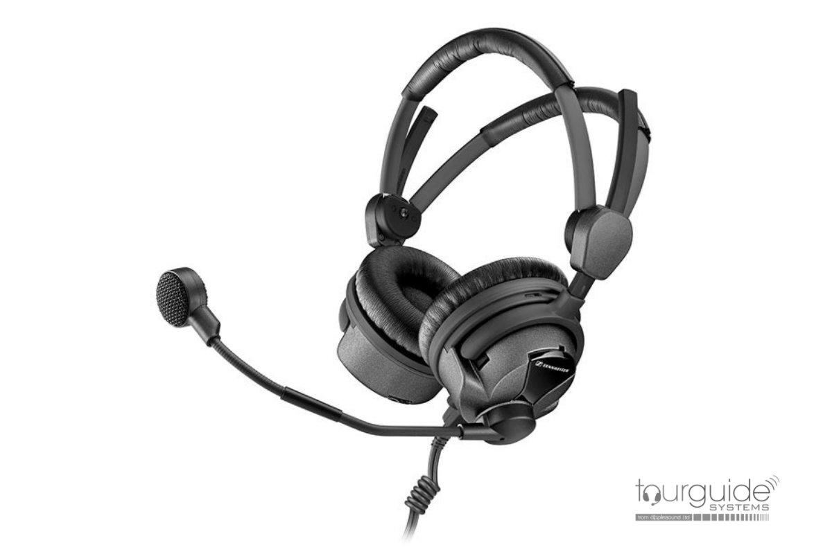 ATS-BHS Single headphone with boom mic headset