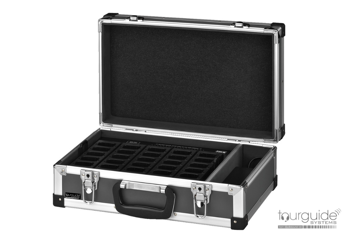 ATS-25C Charger Case for up to 25 units of ATS-50T or ATS-50R
