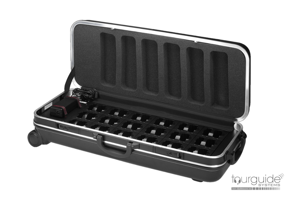 ATS-36C 36-bay charger carry case for TXA800, ATS16, ATS42