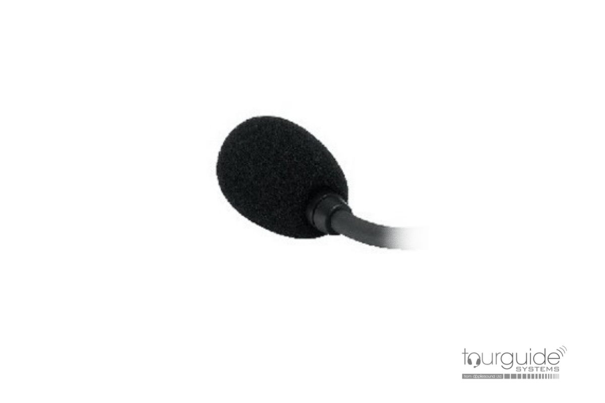 Replacement windscreen for ATS-86 headworn microphone