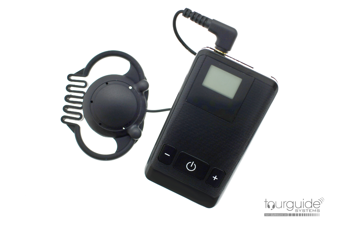 ATS-20R Digital Receiver with ES-16 Earpiece