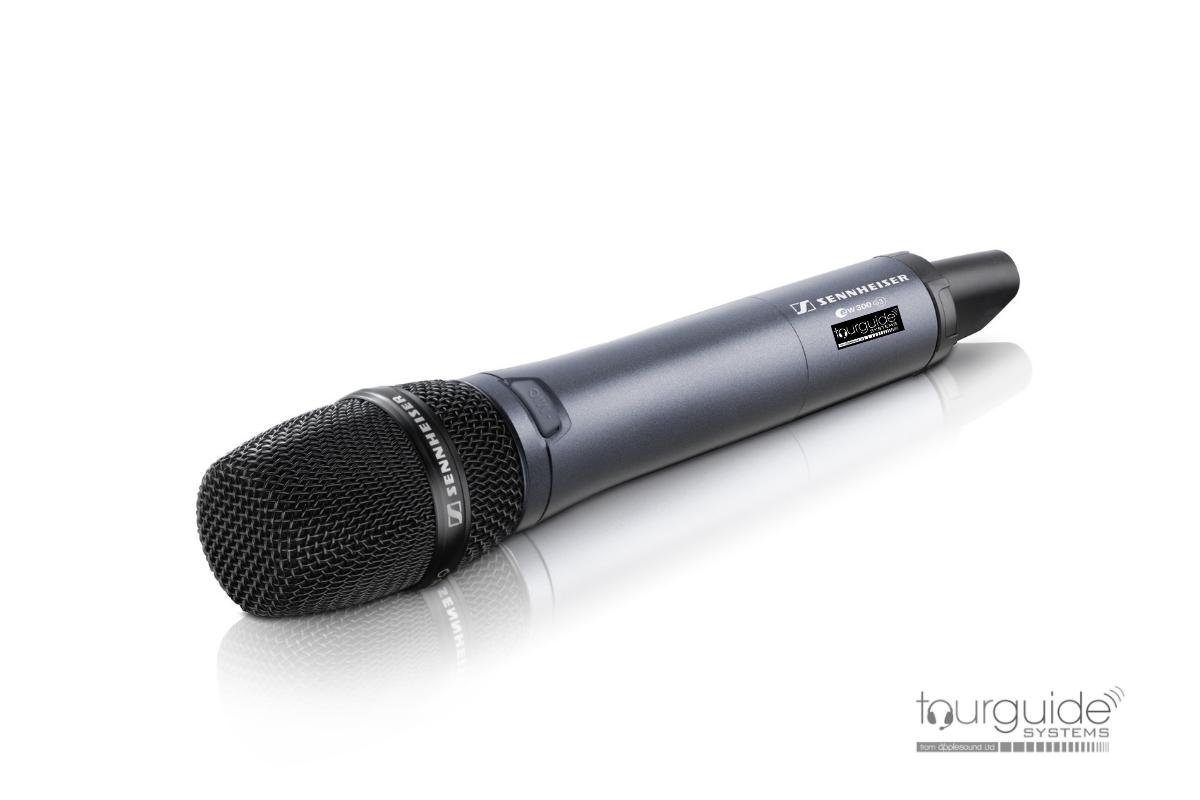 Hand-held microphone transmitter SKM300-835 G3-E-X