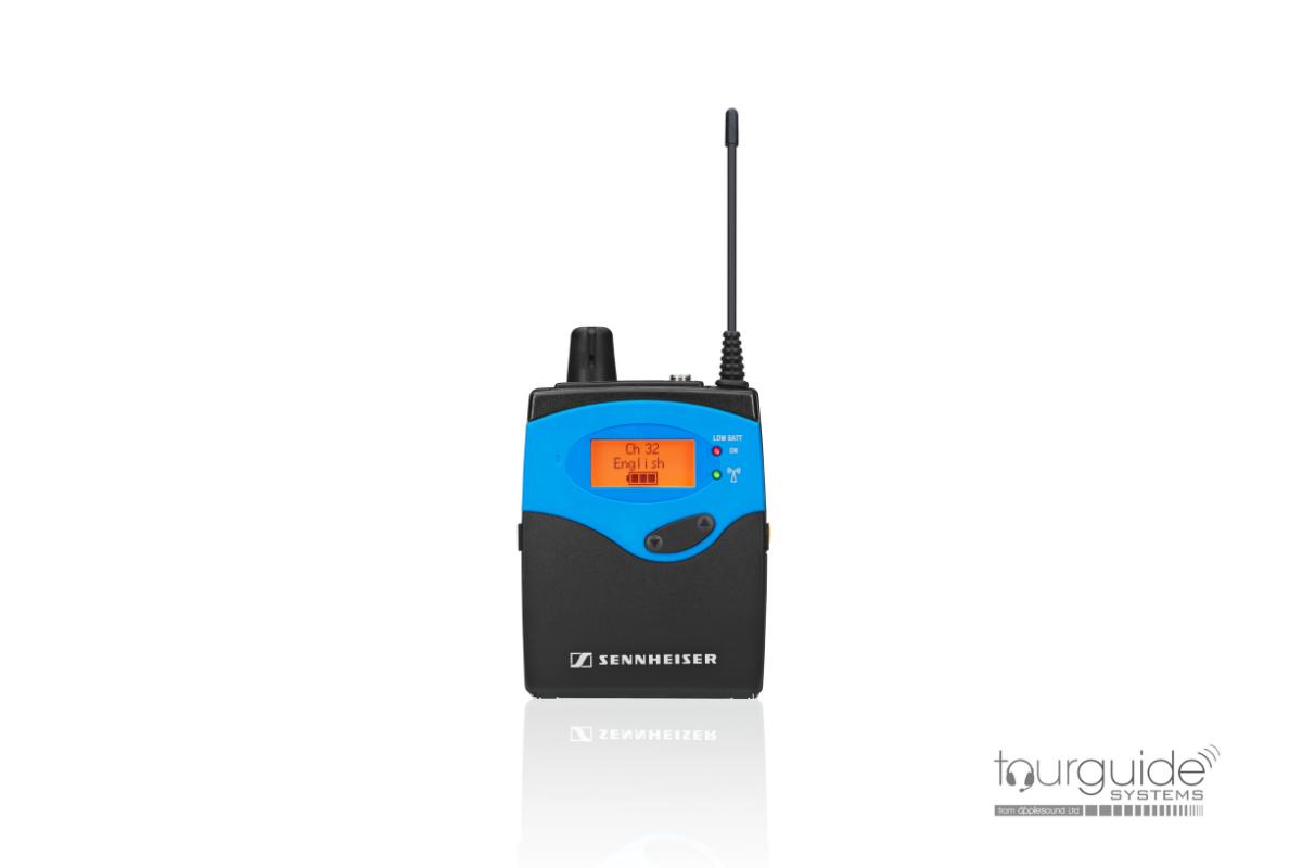 EK 1039 UHF Pocket tourguide receiver
