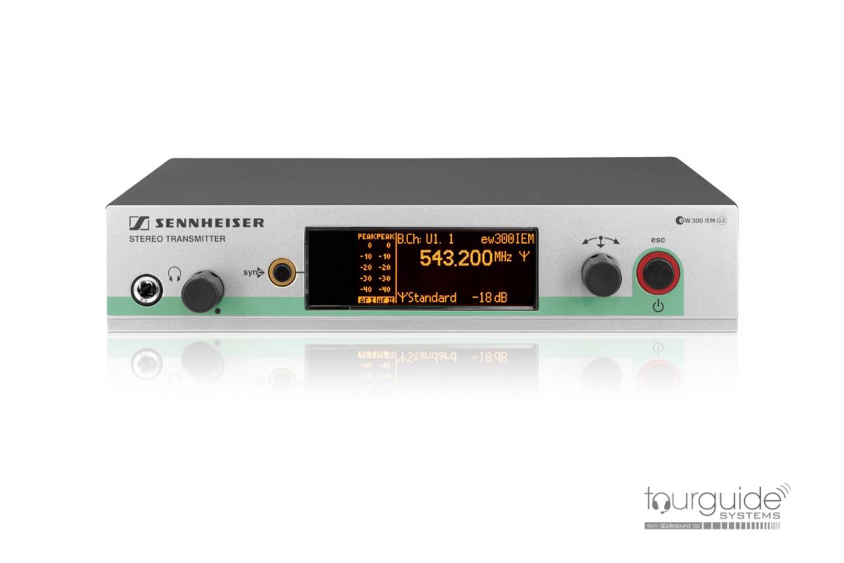 Sennheiser SR 300 IEM G3 ch.38 stationary transmitter